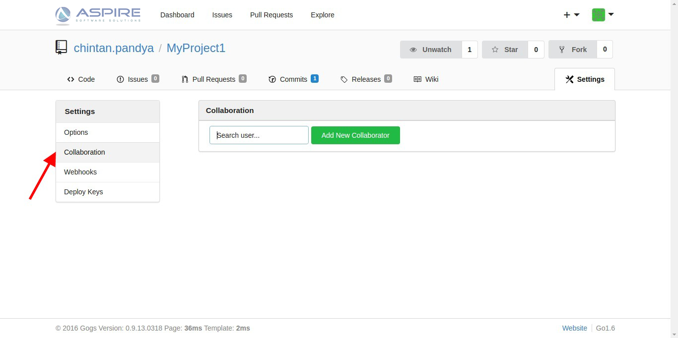 How to configure gogs in local machine – Aspire Blogs