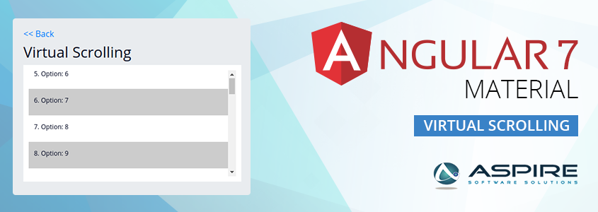 Virtual Scrolling in Angular7 – Aspire Blogs