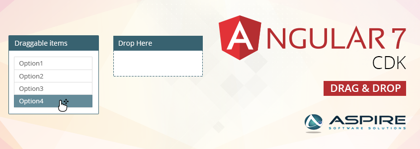 Drag and Drop in Angular7 – Aspire Blogs