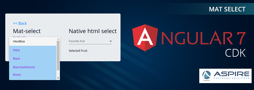 Mat Select in Angular7 – Aspire Blogs
